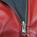 Новая конструированная куртка PU, куртка человека, реверзибельная куртка