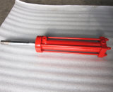 Cilindro hidráulico de Rod de laço do fornecedor de China para a linha de produção
