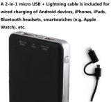 Double sortie USB 5V DC / 1A et 5V DC / 2.1A , le Real apacité 10000mAh Banque de puissance pour téléphone mobile