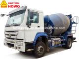 Caminhão do misturador de cimento da bomba do misturador concreto de Sinotruk HOWO 4X2
