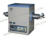 El horno de tubo de alta temperatura con el tubo de 60m m, de 80m m, de 100m m y el vacío ensancha (las series JZ-T1700)
