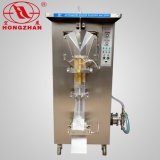 El PE de relleno líquido automático del lacre y máquina del rodaje de películas que lamina para la leche y semi el líquido