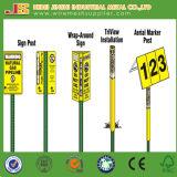 최신 담궈진 직류 전기를 통한 교통 안전 U-Channel 표시 포스트