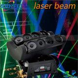 Het bewegende HoofdLicht van de Laser van de Spin van 8 Ogen