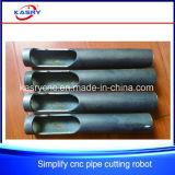 Hohe Genauigkeits-Stahlrohr-Bock CNC-Plasma-Flamme-Ausschnitt-Maschine