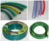 Espulsione molle a fibra rinforzata del tubo del PVC che fa macchina (SJ65X30)