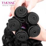 方法イタリアの巻き毛のバージンのマレーシアの毛の織り方