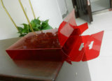 коробка PVC цвета пластичная (коробка упаковки подарка)