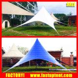 Tente imperméable à l'eau ignifuge d'ombre d'étoile de couverture de tente de jardin