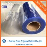 rolo rígido transparente do PVC de 0.35mm para a impressão da tela de seda