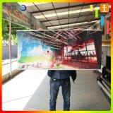 Customed昇進のための屋外PVC二重印刷されたハングの旗