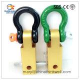 """Ricevente del legamento di ripristino dell'anello a """"D"""" dell'anello di trazione della barra di rimorchio della lega di alluminio"""