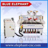 Máquina Multi-Dirigida 4*8FT do router do CNC Ele1325 feita em China