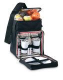 Picknick-Kühlvorrichtung-Beutel mit Essgeschirr