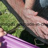 ' trampolín púrpura redondo 12 con recinto de la red de seguridad