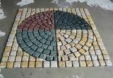 Granit-Marmorwürfel-Stein Cubestone grauer schwarzer Gehsteig, der für G603 G687 G664 G654 G602 Fliese pflastert