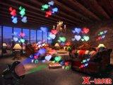 일 가벼운 영사기가 주어지는 특유한 휴일 전시 애니메니션 크리스마스 불빛 감사