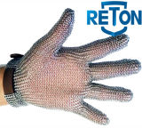 Kettenhemd Anti--Schnitt Hand schützen Sicherheits-Metzger-Handschuh/nicht rostenden Metallhandschuh-Stahlineinander greifen-Handschuh