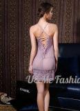 Женское бельё женщин Slutty горячего цвета пинка сбывания Silk сексуальное