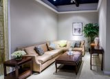 Sofà di vendita moderno superiore al minuto, sofà d'angolo