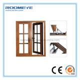 Roomeye 2017 최신 쇠창살 디자인 알루미늄 조정 여닫이 창 Windows (RMCW-75)