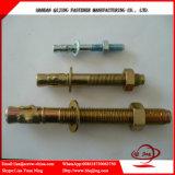 Fabrication chimique M8 de dispositifs de fixation de boulon de soutènement de boulon/de goujon