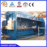 Machine à cintrer 2-WE67K-250X5000 de commande numérique par ordinateur d'électro de presse plaque inoxidable synchro hydraulique hydraulique de frein