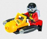 水シリーズデザイナーダイバーの海底の探鉱者25PCSはおもちゃを妨げる