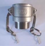 un tipo accoppiamento del Camlock in acciaio inossidabile per il collegamento di tubo