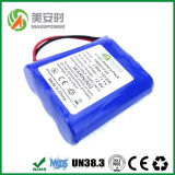 Батарея пакета 12V 2600mAh PVC
