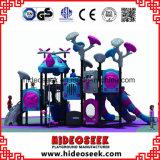 中国の工場によってカスタマイズされる子供のプラスチック運動場