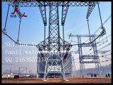 tour en acier de la cornière 800kv de ligne de boîte de vitesses d'énergie électrique