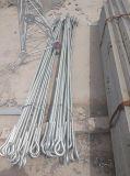 Galvanisiert ringsum StahlGuyed Telekommunikationszellen-Aufsatz