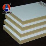 Foshan enchufe de fábrica de PVC plástico de madera de co-extrusión de la placa