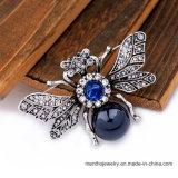 De nieuwe Retro Juwelen van de Speld van de Broche van het Bergkristal van de Legering Dier Gestalte gegeven