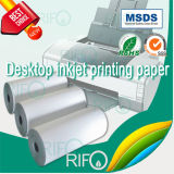 Бумага одиночного бортового поверхностного покрытия синтетическая для высокого Absorbency чернил
