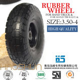 Trolley de caminhão manual Tire Pubarrow Rubber Wheel Tire 3.50-4