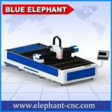 Лазер вырезывания металла лазера волокна сбывания Китая горячий, автомат для резки лазера волокна для листа углерода стального