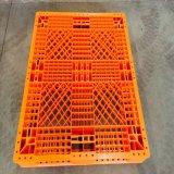 Het antislip Dubbel zag het Rekken de Op zwaar werk berekende Plastic HDPE Logistische Plastic Pallet van het Vervoer onder ogen