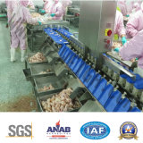 Poutry y pesador de la verificación automática del alimento de mar