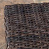 Rattan piano esterno buono Weaven di Furnir T-086 lle sedi delle 5 parti che pranzano insieme