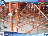 Andaime de aço do procedimento aprovado do GV para o edifício (FLM-SF-004)