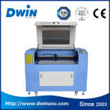Máquina de estaca da gravura do laser do teste padrão da tela e do couro de Dwin