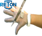 Huître Glove, Anti-Cut Stainless Metal Mesh Glove pour Meat Processing, Chain Mail Glove