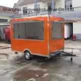 Carros móveis do alimento do Eletro-Triciclo para o carro do alimento do café da venda