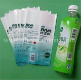Belüftung-Haustiershrink-Hülsen-Kennsatz für Saft-Flasche