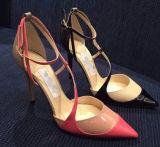 Nuovi pattini delle donne dell'alto tallone di modo di stile (W02-2)