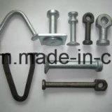 Easy具体的なSwift Lift Utility Spherical Head Pin Anchor (1.3TX65)