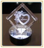 Гравировальный станок лазера с гравировальным станком кристалла фотоего цены 3D