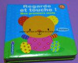 Toque e livro da sensação para miúdos